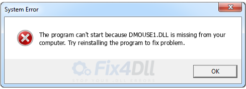 DMOUSE1.DLL missing