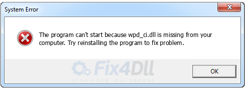 wpd_ci.dll missing